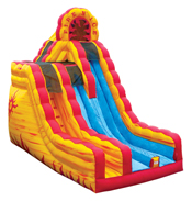 Fire & Ice Dry Slide